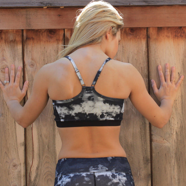 Cloudy Nights Sports Bra