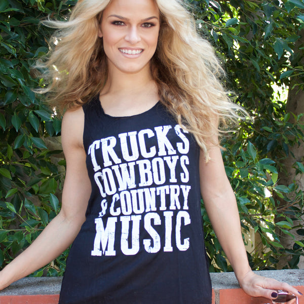 Trucks Cowboys Music Tank
