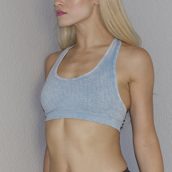 Double X Back Sports Bra