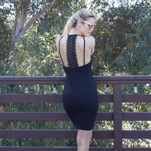 Mind Code Black Dress