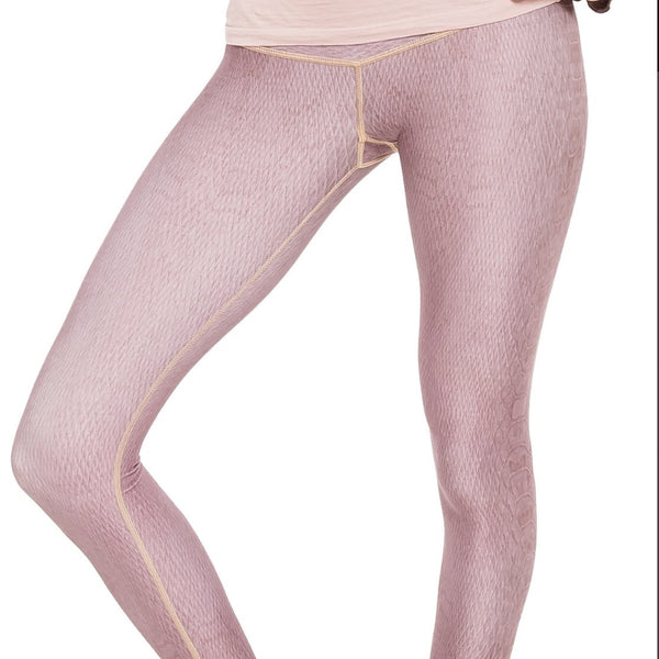 Dusty Rose Diamondback Leggings