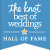 The Knot Best of Weddings 2017 Pick! HALL OF FAME