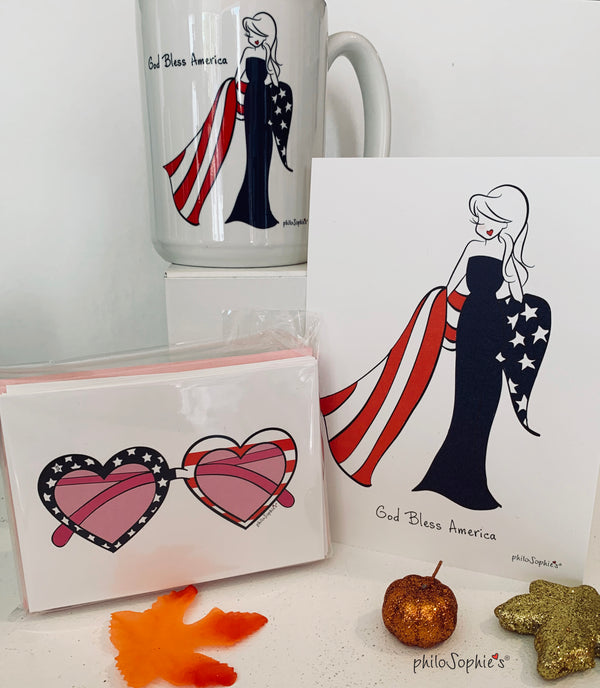 God Bless America Gift Set