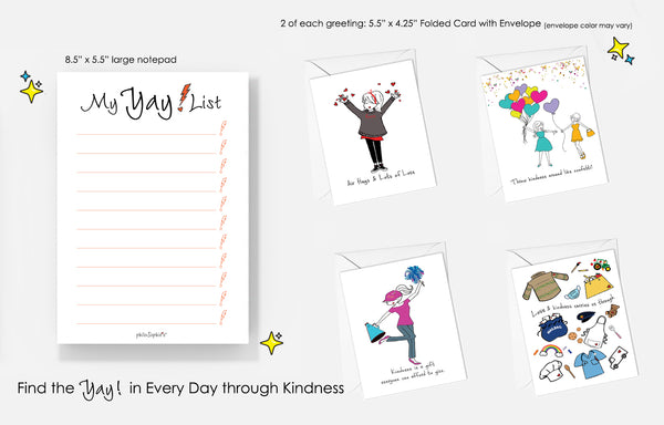 Yay! Kindness Bundle - Celebrate National Card & Lettering Writing Month