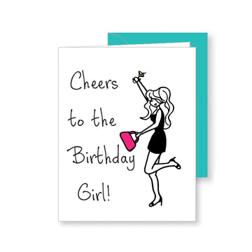 Birthday Girl- Birthday Greeting Card