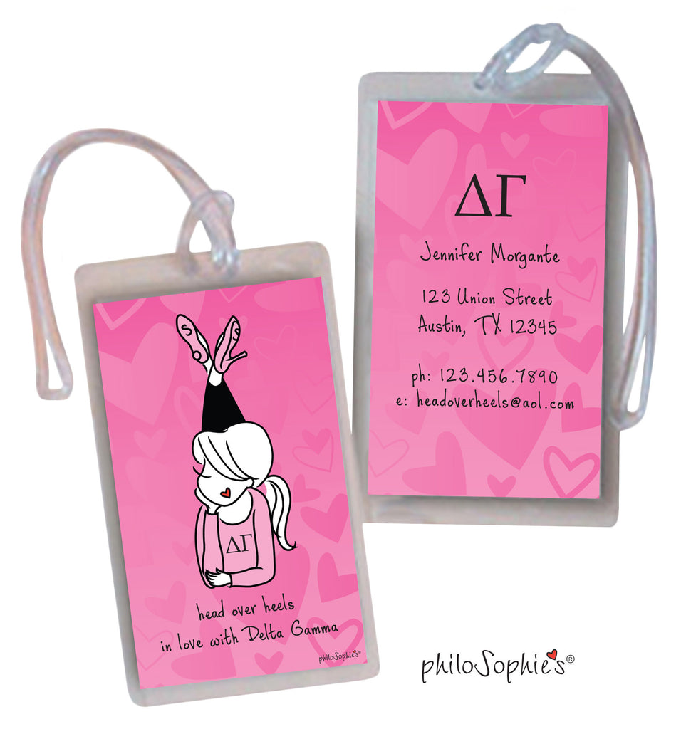 Delta Gamma Luggage Tags - philoSophie's®