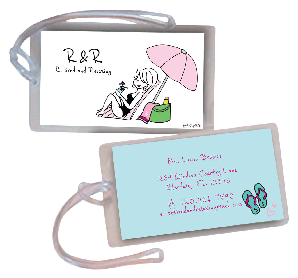 R&R Luggage Tags
