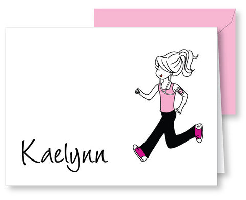 Runner Personalized Notes - philoSophie's®