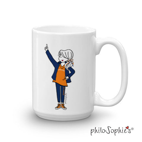 #1 Fan Team Mug personalized mug - philoSophie's®