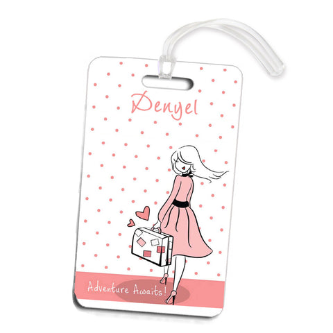 Adventure Awaits Travel Luggage Tags - philoSophie's®