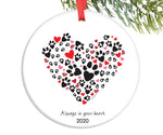 Always in Your Heart  - Pet Sympathy, 2020 Christmas Ornament