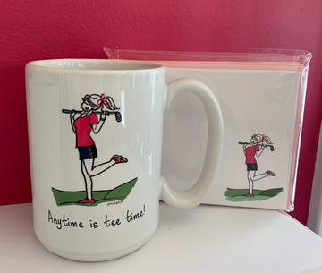 Anytime is Tee Time Gift Set
