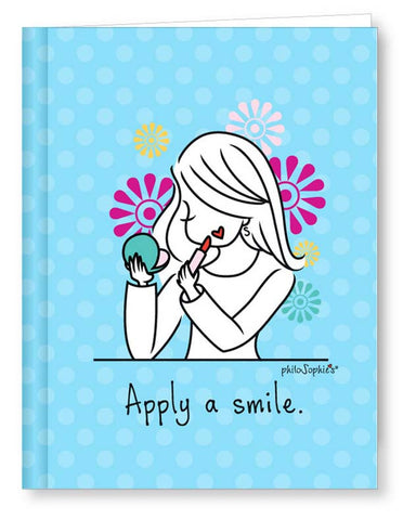 Apply a Smile journal - philoSophie's®