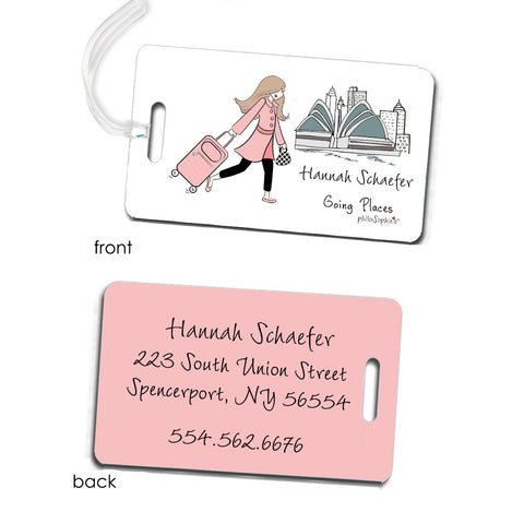 Australia Going Places Travel Luggage Tags - philoSophie's®