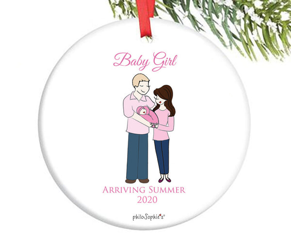 Personalized Expecting New Baby Ornament