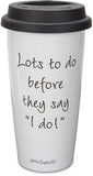 Mother of Groom Travel Mug - philoSophie's®