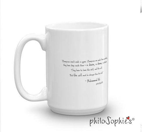 Stronger  -personalized mug - philoSophie's®