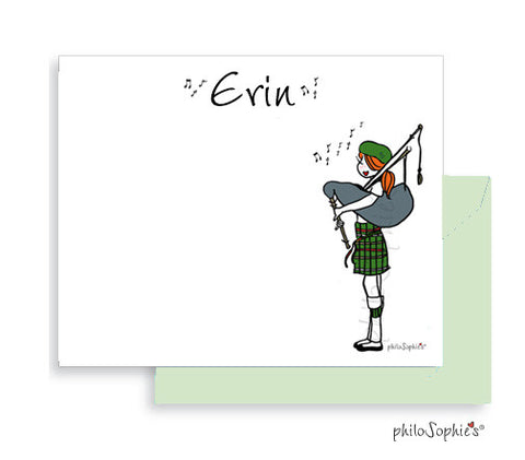 Personalized Bagpipe Notes ( Special Holiday Pricing)