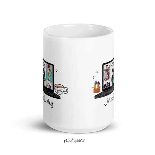 Zoom Band Ceramic Mug