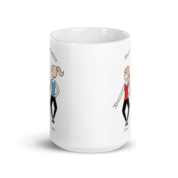 Barre Besties Personalized Mug
