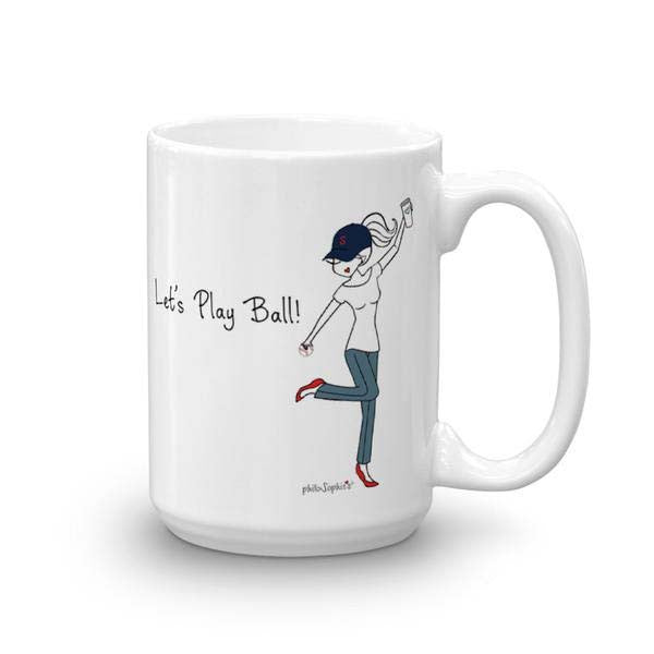 Short Monday/ Let's Play Ball Mug - philoSophie's®
