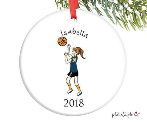 Basketball Ornament - personalized philoSophie's - philoSophie's®