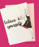 Believe in Yourself Charm Necklace/Card - philoSophie's®