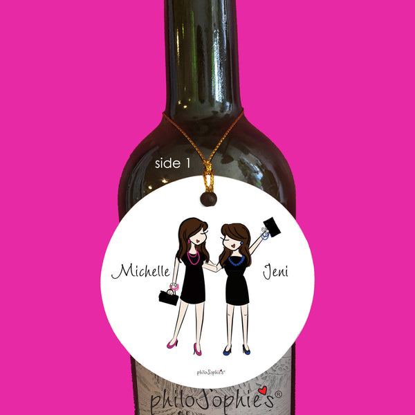 Best Accessory - Friendship Ornament personalized philosophie's