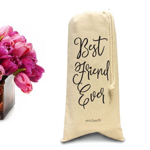 Best Friend Ever/Wine & Spirits Tote