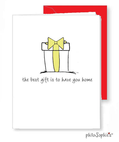 Best gift is to have you home - greeting card - philoSophie's®