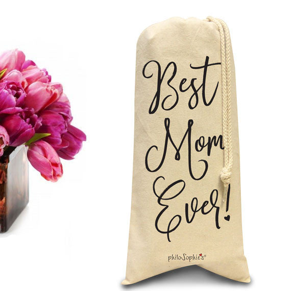 Best Mom Ever wine/spirit tote - philoSophie's®