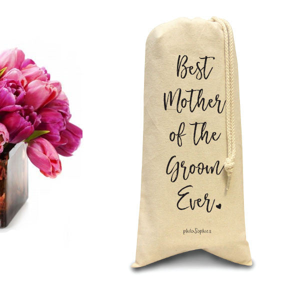 Best Mother of the Groom Ever tote/Wine & Spirits Tote - philoSophie's®