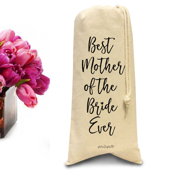 Best Mother of the Bride Ever tote/Wine & Spirits Tote - philoSophie's®