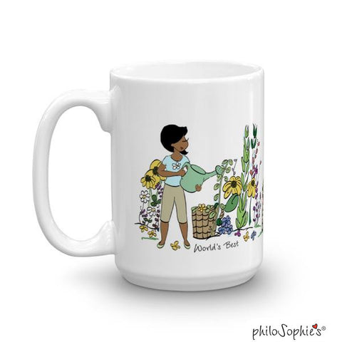 Bloom! Garden (pet optional) Personalized Mug