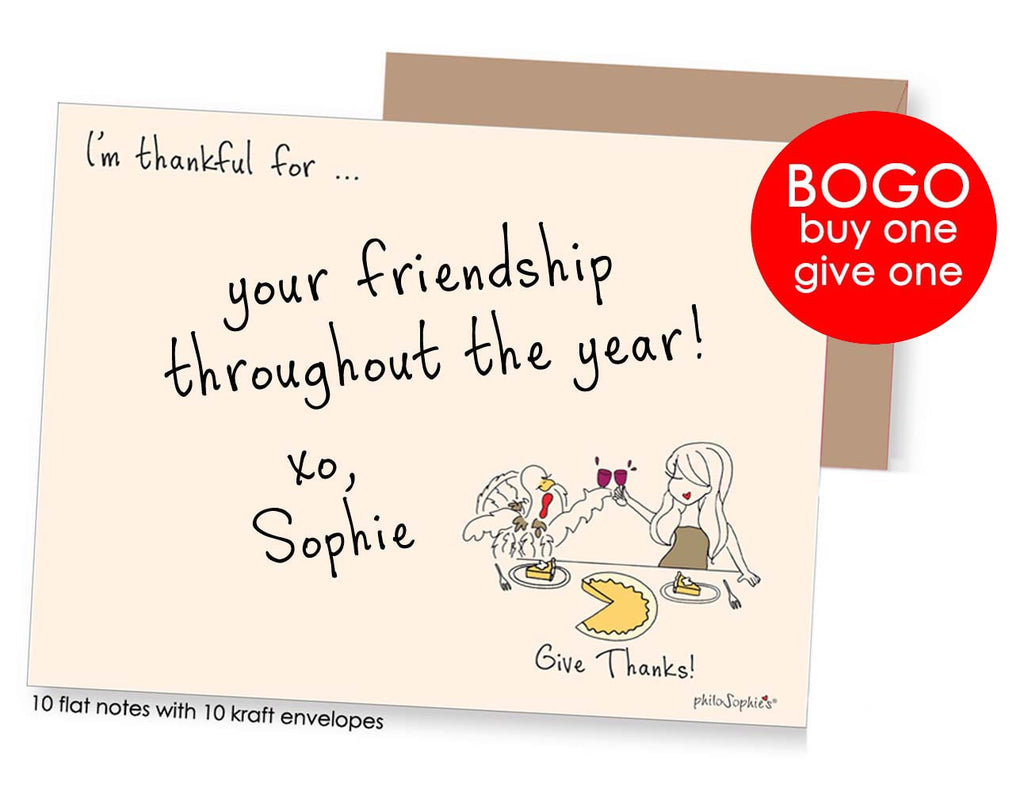 Give Thanks Notes-  Join the Challenge! - philoSophie's®