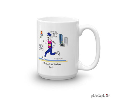 Strength in Numbers  Personalized Mug
