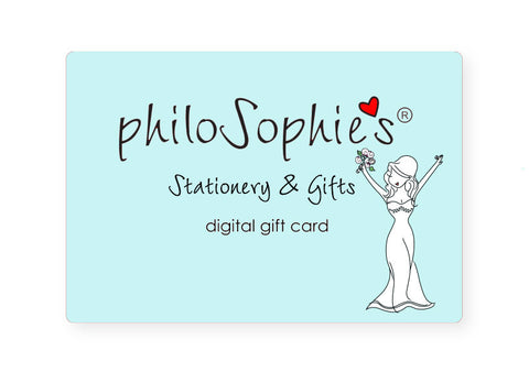 Bridal philoSophie's Digital Gift Card - philoSophie's®