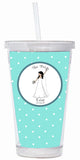 Bridal Water Tumbler -The Bride - philoSophie's®