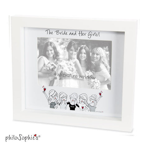 The Bride and Her Girls  Frame - philoSophie's®