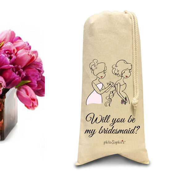 Will you be my bridesmaid tote/Wine & Spirits Tote - philoSophie's®