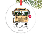 Bus Driver  Custom Ornament