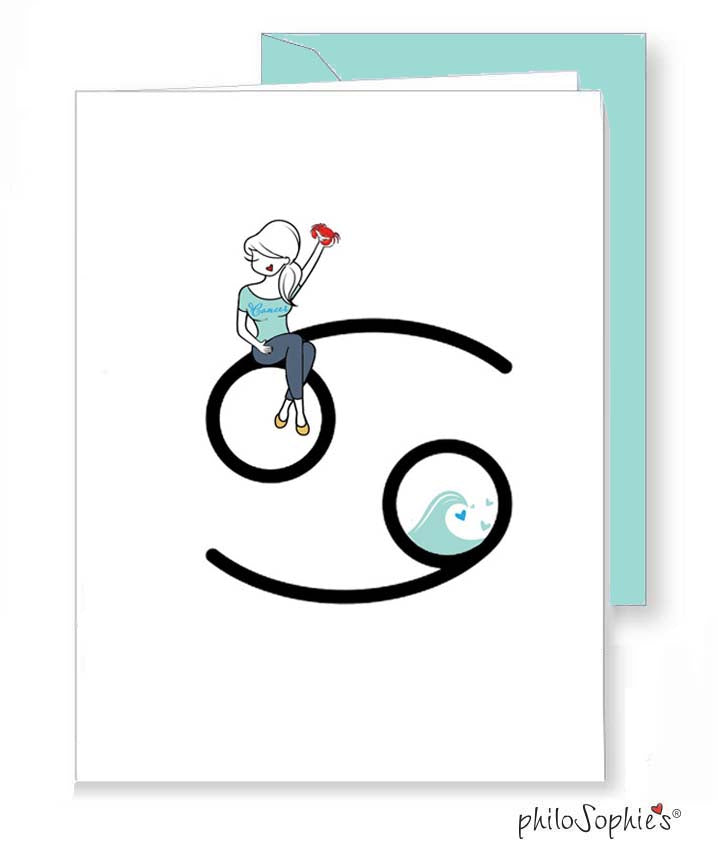 Zodiac: Cancer Greeting Card
