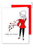 Candy Cane Kisses Greetings - philoSophie's®