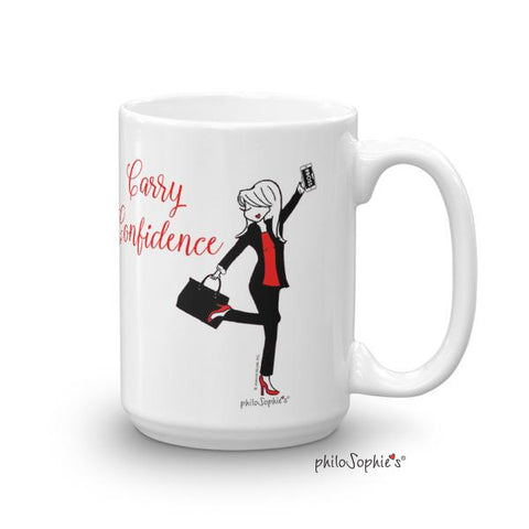 Carry Confidence Mug - philoSophie's®