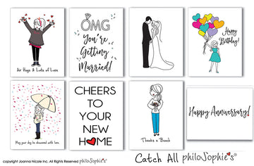 Catch-All philoSophie's Boxed Notecard Set