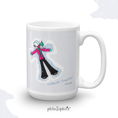 Snow Day!  Winter Mug ( Non Personalized) - philoSophie's®