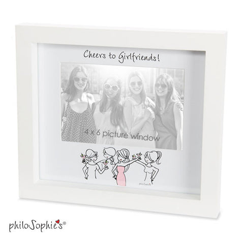 Cheers to Girlfriends Frame - philoSophie's®