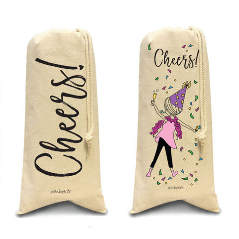 Cheers totes/Wine & Spirits Tote