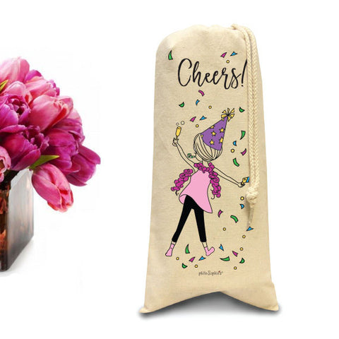 Cheers with philoSophie's Tote/Wine & Spirits Tote - philoSophie's®