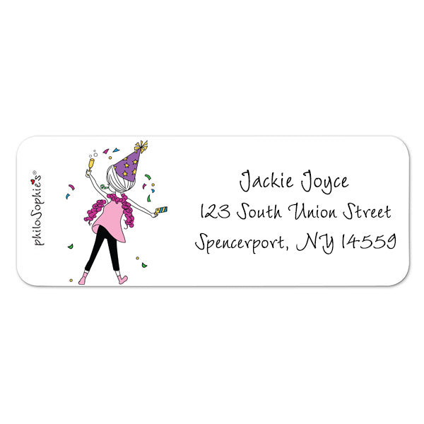 Let's Party! - Return Address Labels
